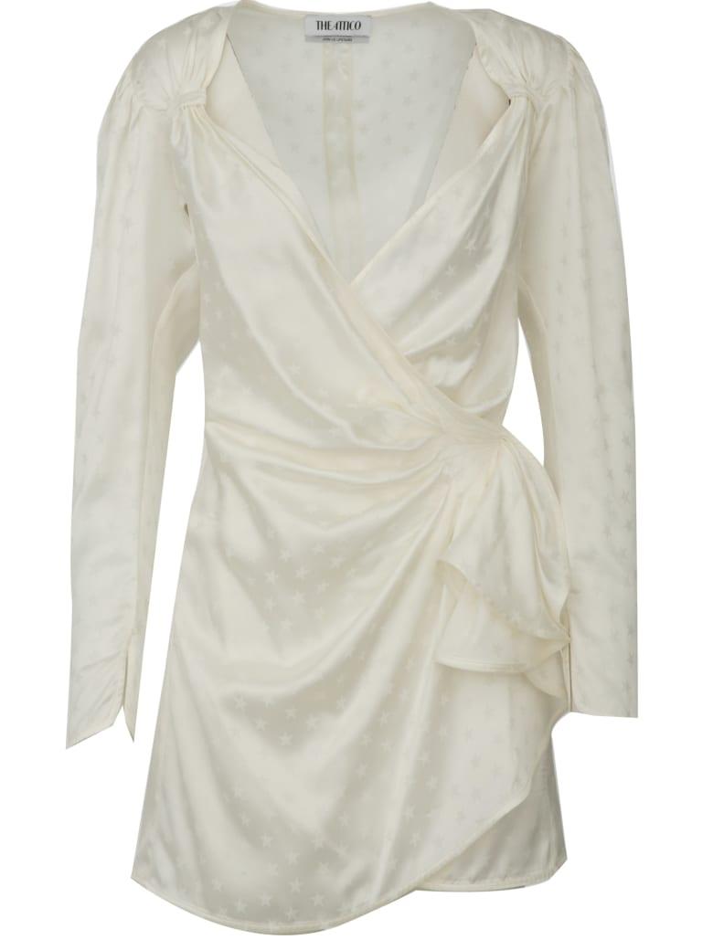 ATTICO Mini Dress Attico - Ivory