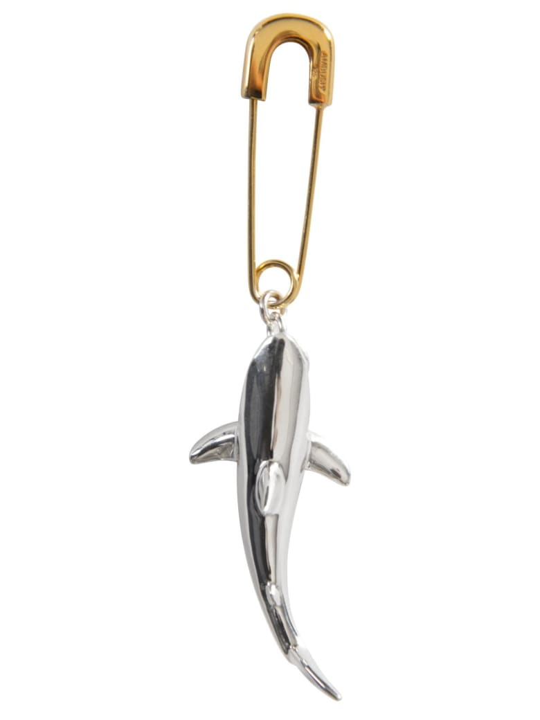 AMBUSH Shark Earring - ARGENTO