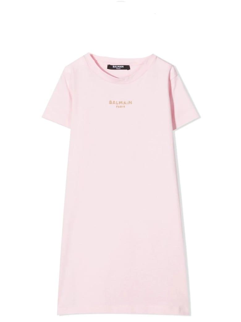 Balmain Dress Model T-shirt - Pink