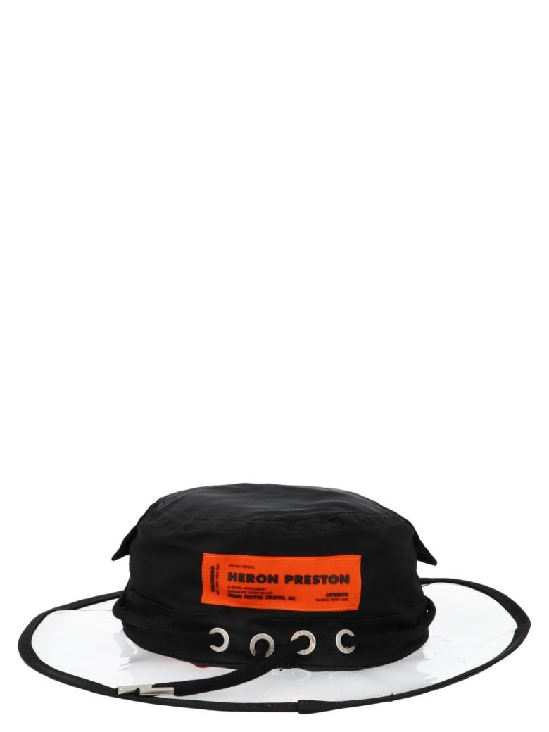 HERON PRESTON Hat - Black