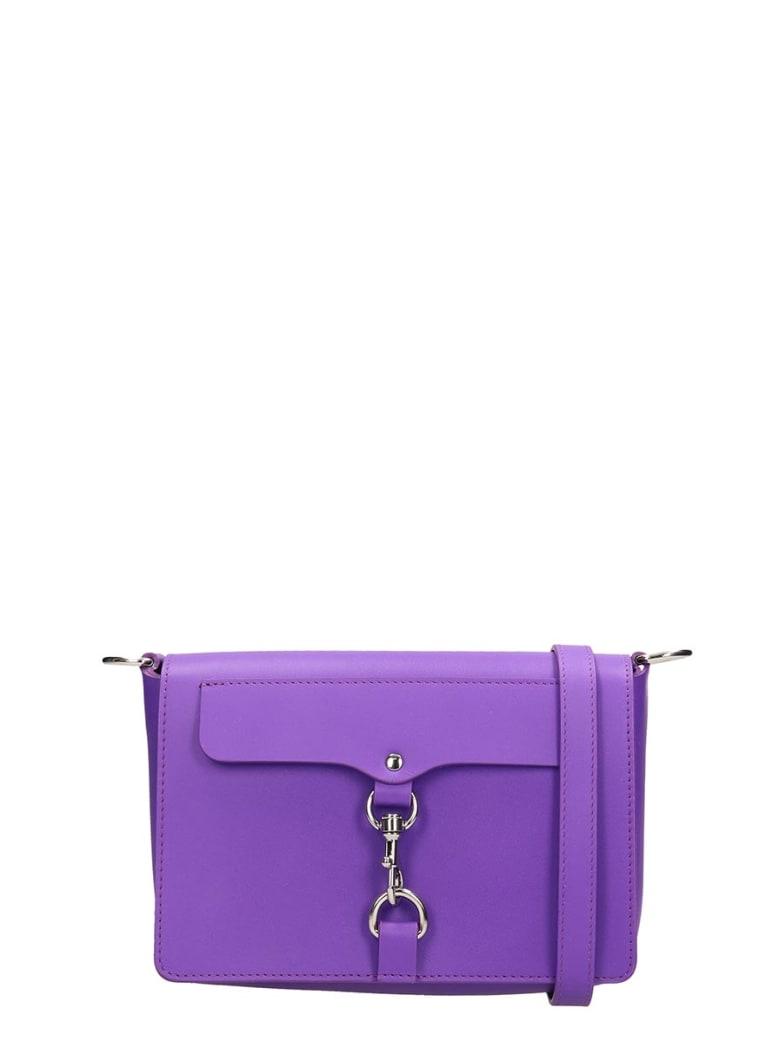 Rebecca Minkoff Violet Leather Bag - Viola