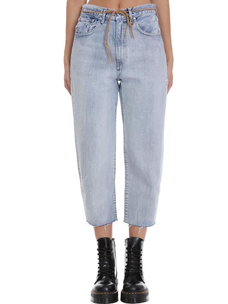 Levi's Jeans In Cyan Denim - cyan