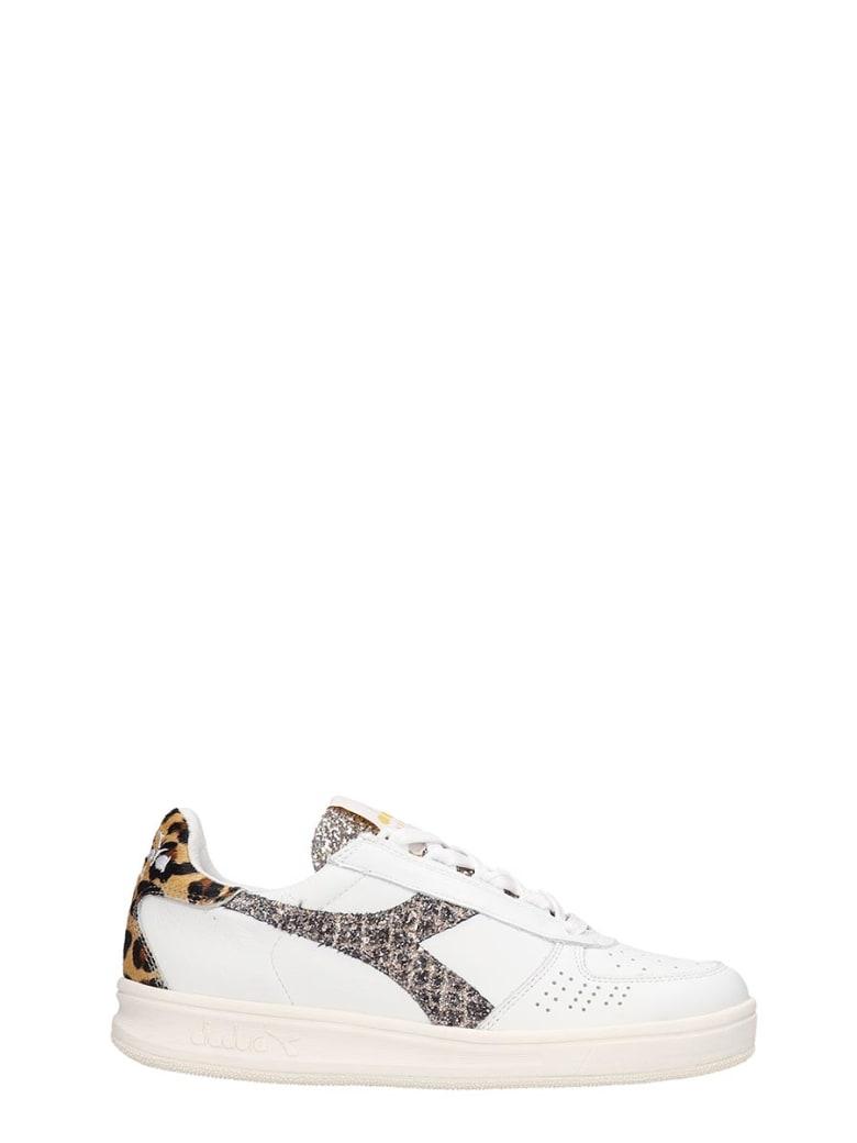 Diadora B.elite  Sneakers In White Leather - white