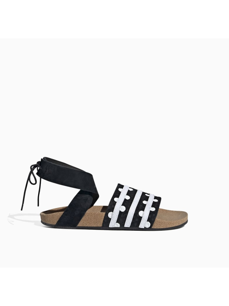 Adidas Originals Adidas Adilette Ankle Wrap Sandals Ef5630 - CORE BLACK
