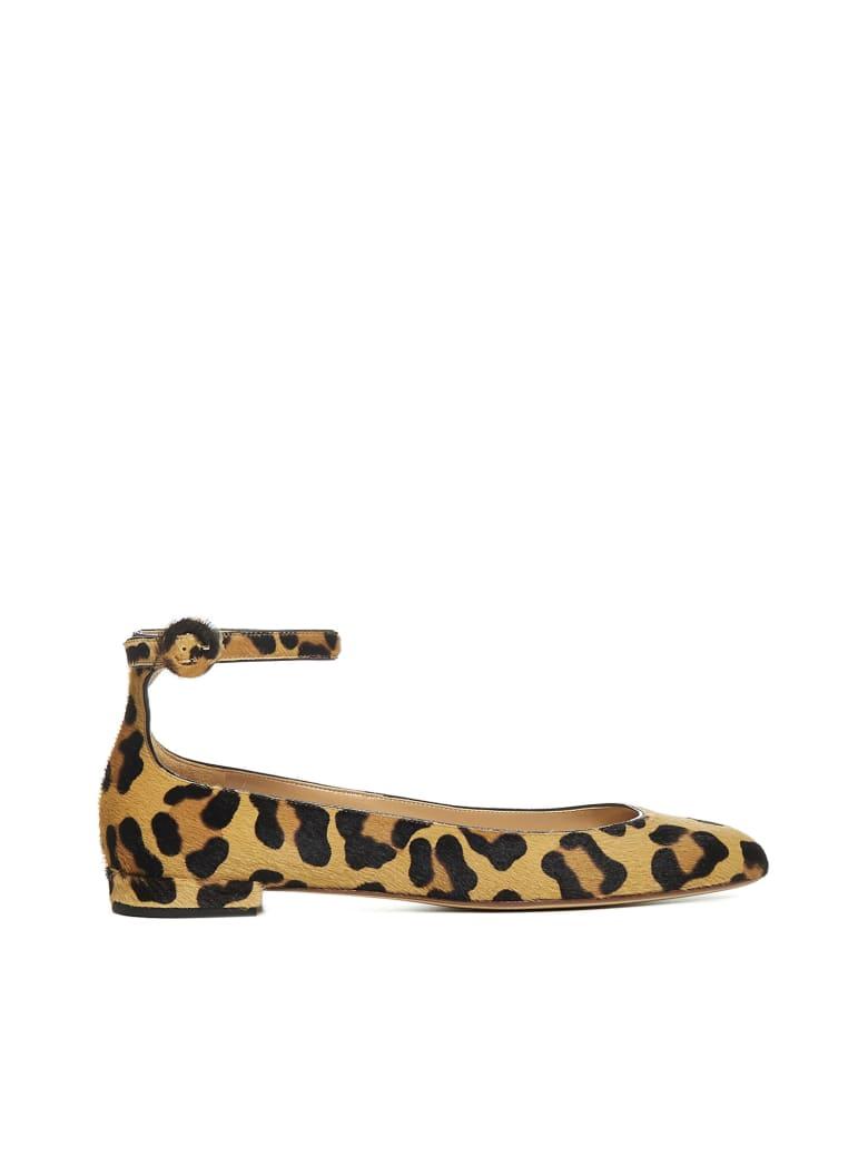 Francesco Russo Flat Shoes - Naturale
