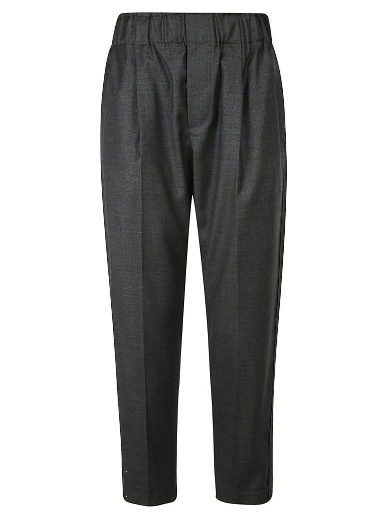 Brunello Cucinelli Cropped Trousers - Grey