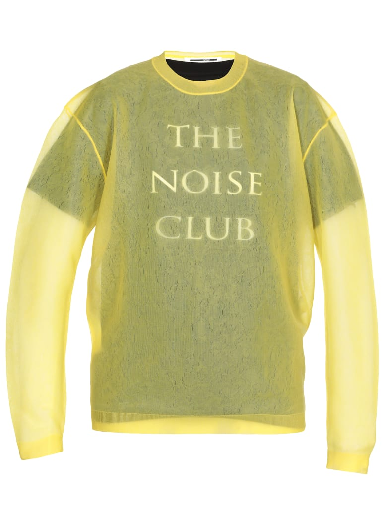 McQ Alexander McQueen Double Layer T-shirt - Yellow Inferno