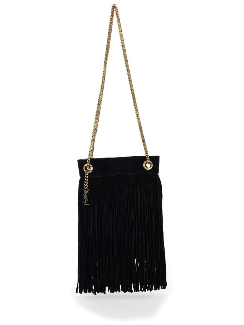 Saint Laurent Grace Shoulder Bag - Nero