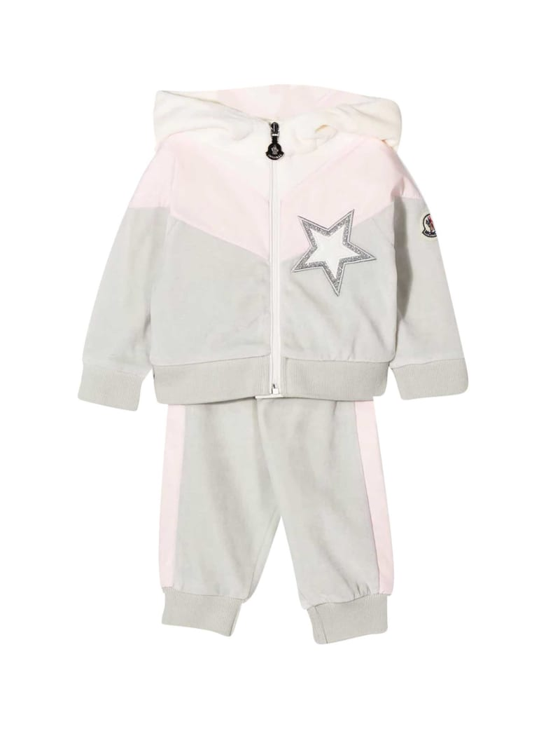Moncler Tracksuit With Frontal Star Application - Unica