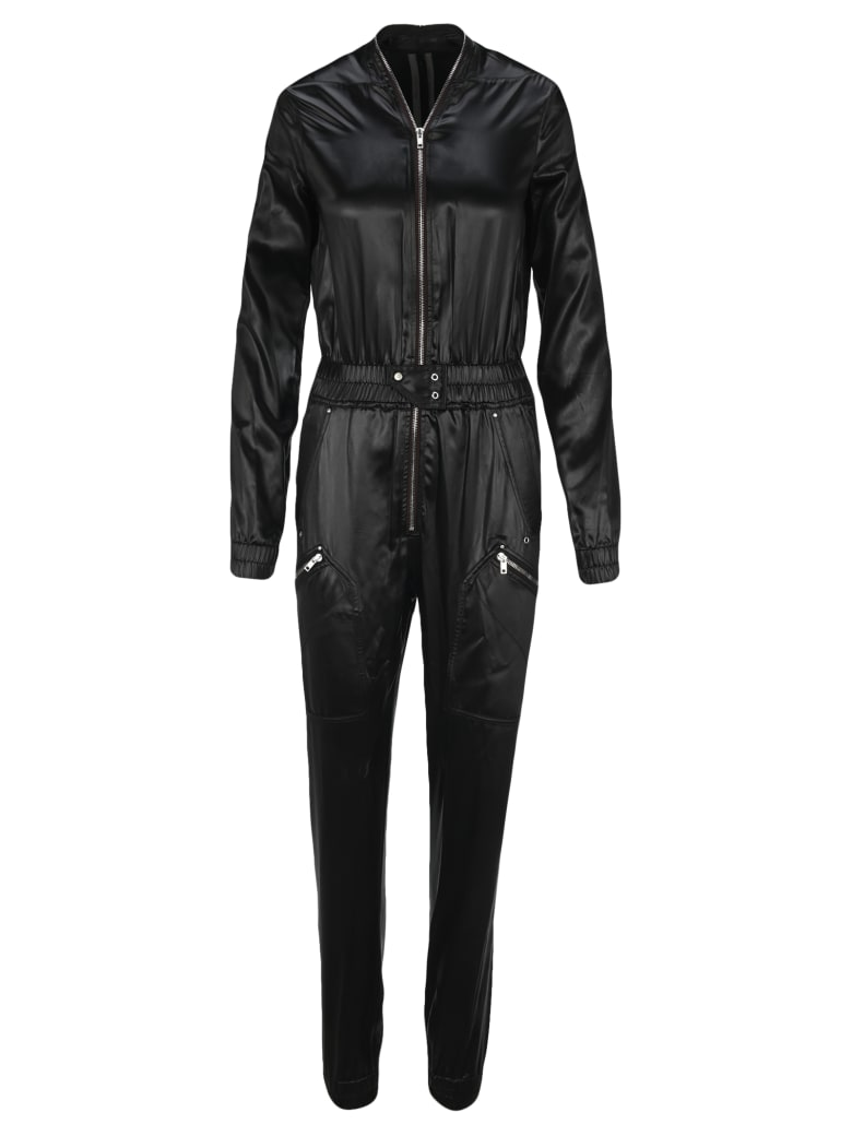 Rick Owens Performa Bodybag Jumpsuit - BLACK
