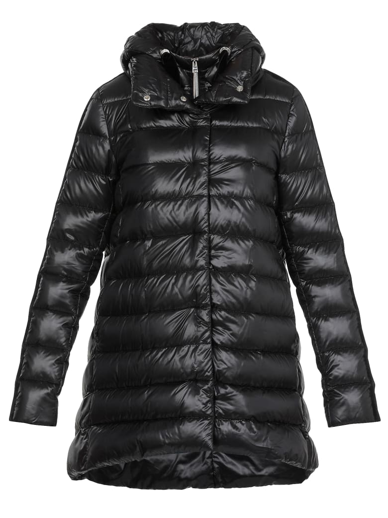 Herno Quilted Jacket - BLACK