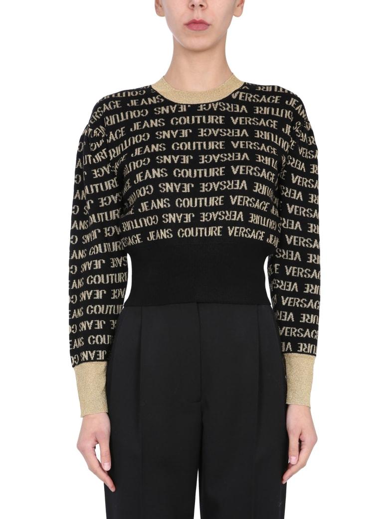 Versace Jeans Couture Crew Neck Sweater - NERO