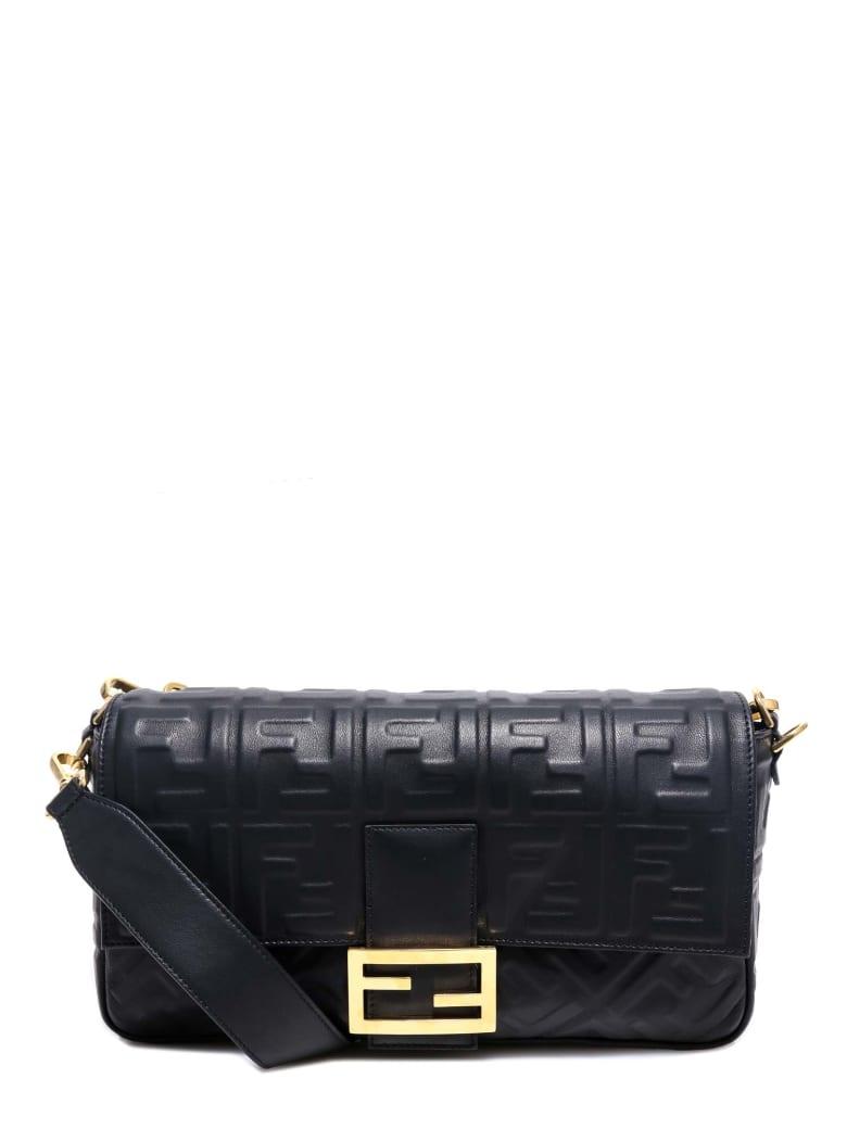 Fendi Baguette Shoulder Bag - Black