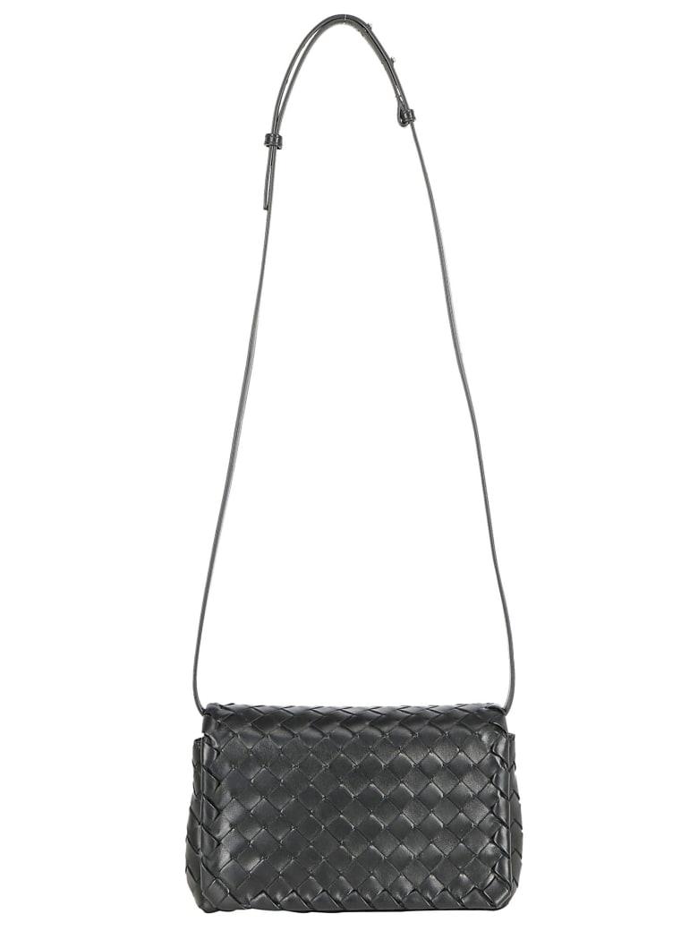 Bottega Veneta Baby Olimpia Shoulder Bag - Nero/silver