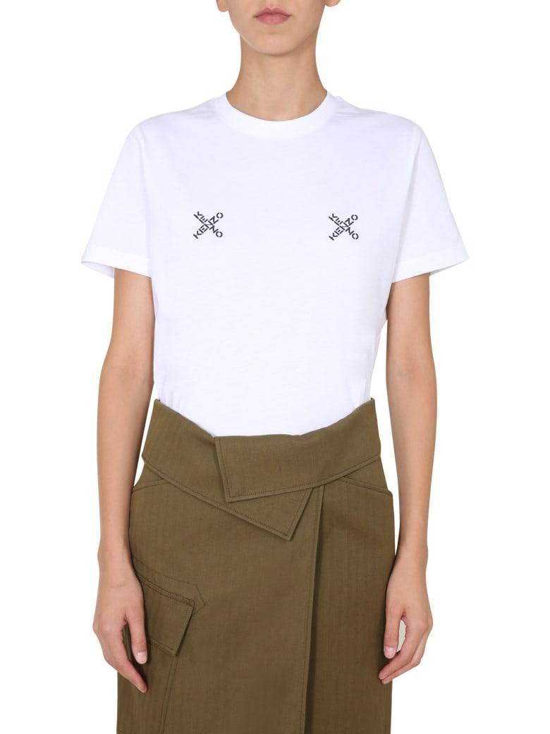 Kenzo Crew Neck T-shirt - Bianco