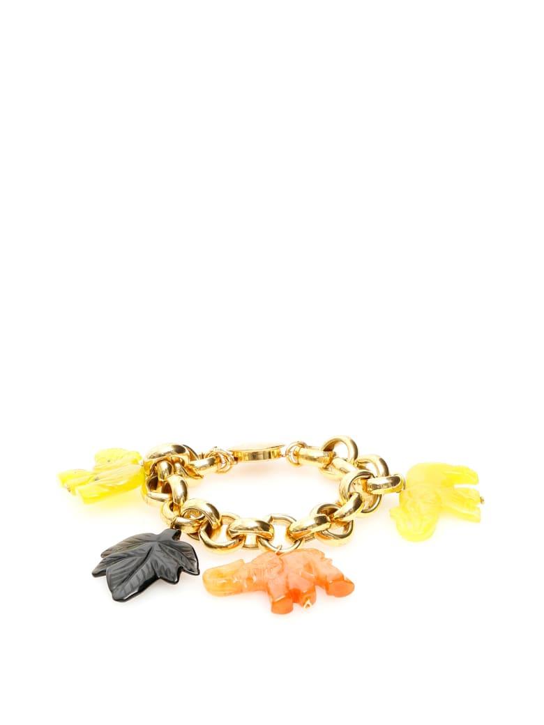 Timeless Pearly Elephant Bracelet - VARIANTE ABBINATA (Yellow)