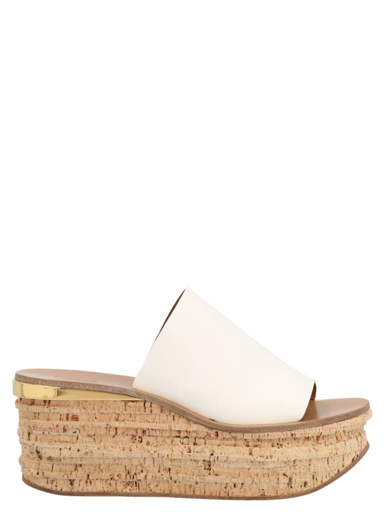 Chloé 'camille' Shoes - White