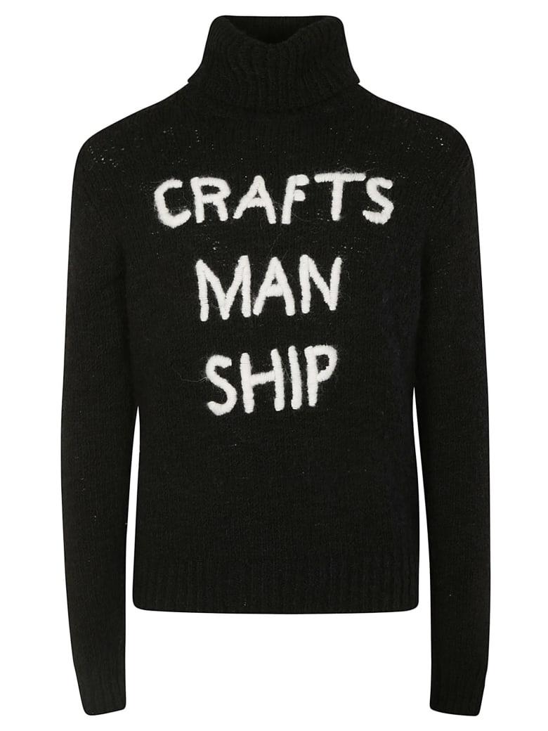 Dolce & Gabbana Craft Man Ship Jumper - Black