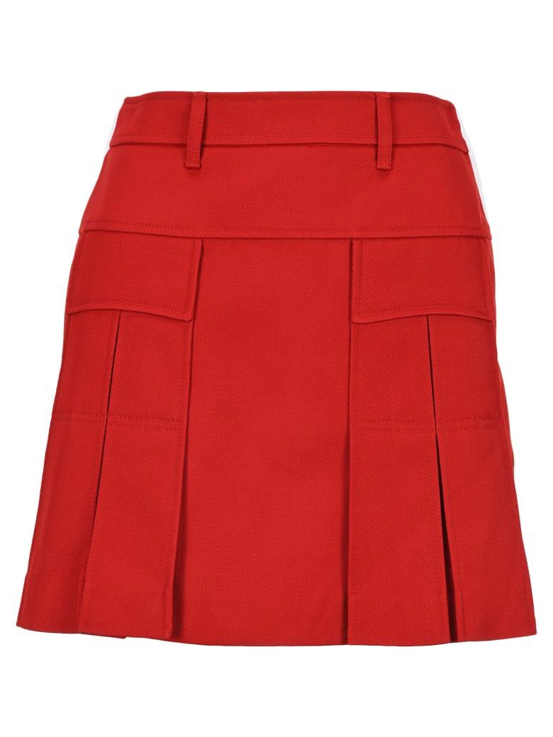 Prada Pocket Mini Skrt - RED