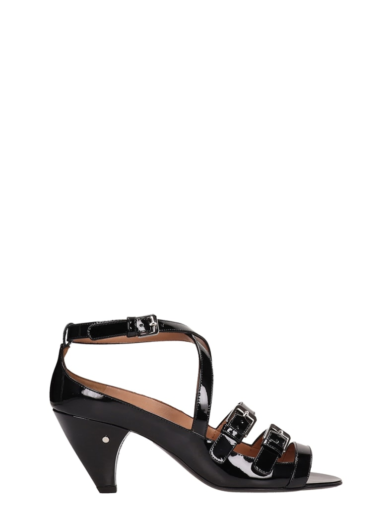 Laurence Dacade Teodora Strappy Sandals - black