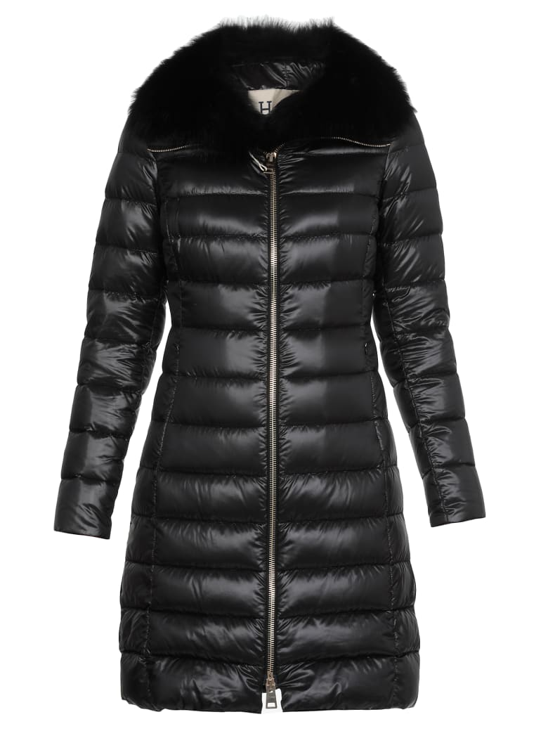 Herno Quilted Padded Down - BLACK