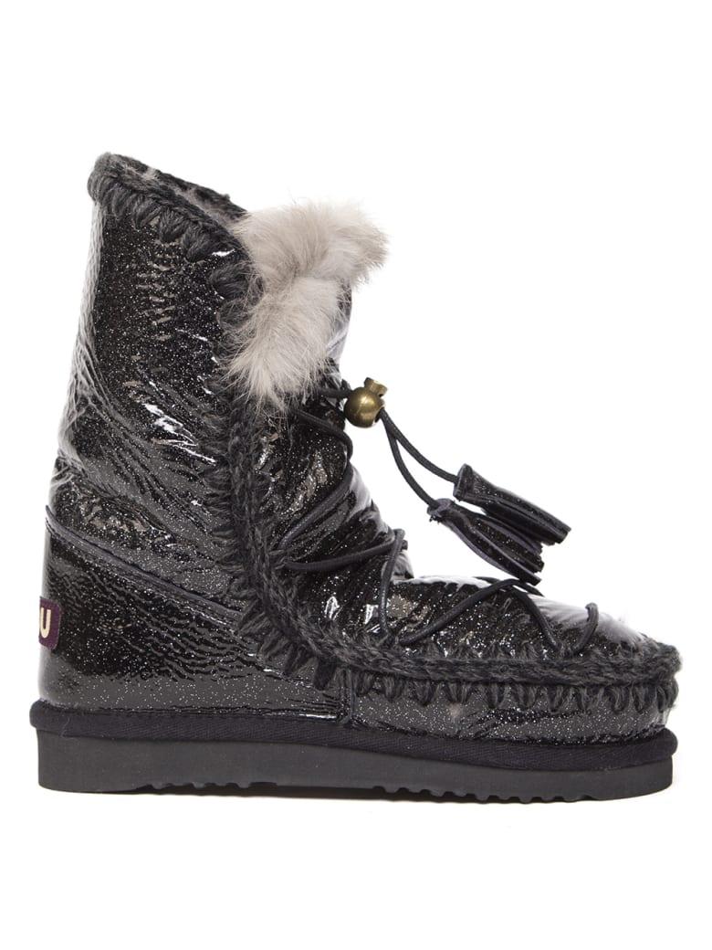 Mou Black Eskimo 24 Dreamcatcher Ankle Boot - Black