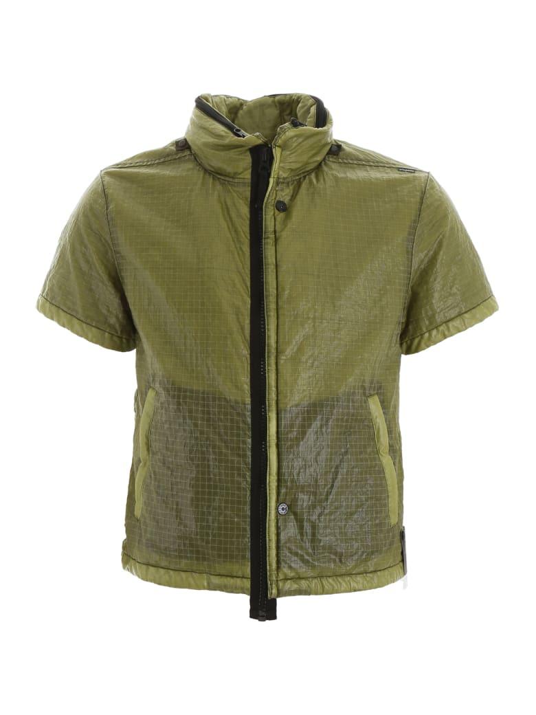 Stone Island Shadow Project Short-sleeved Jacket - OLIVA (Green)