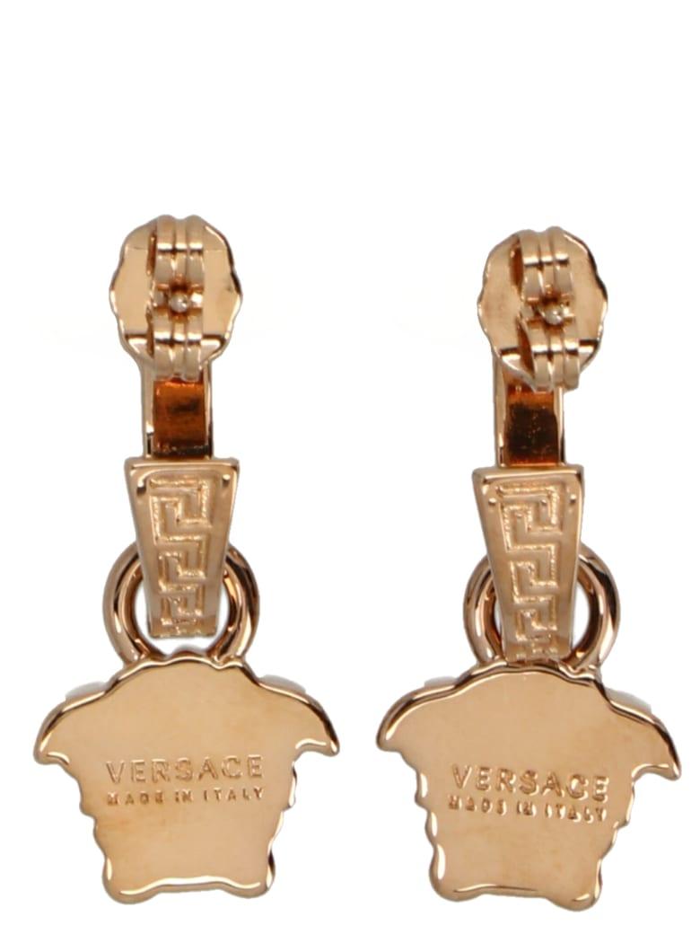 Versace 'medusa' Earrings - Gold