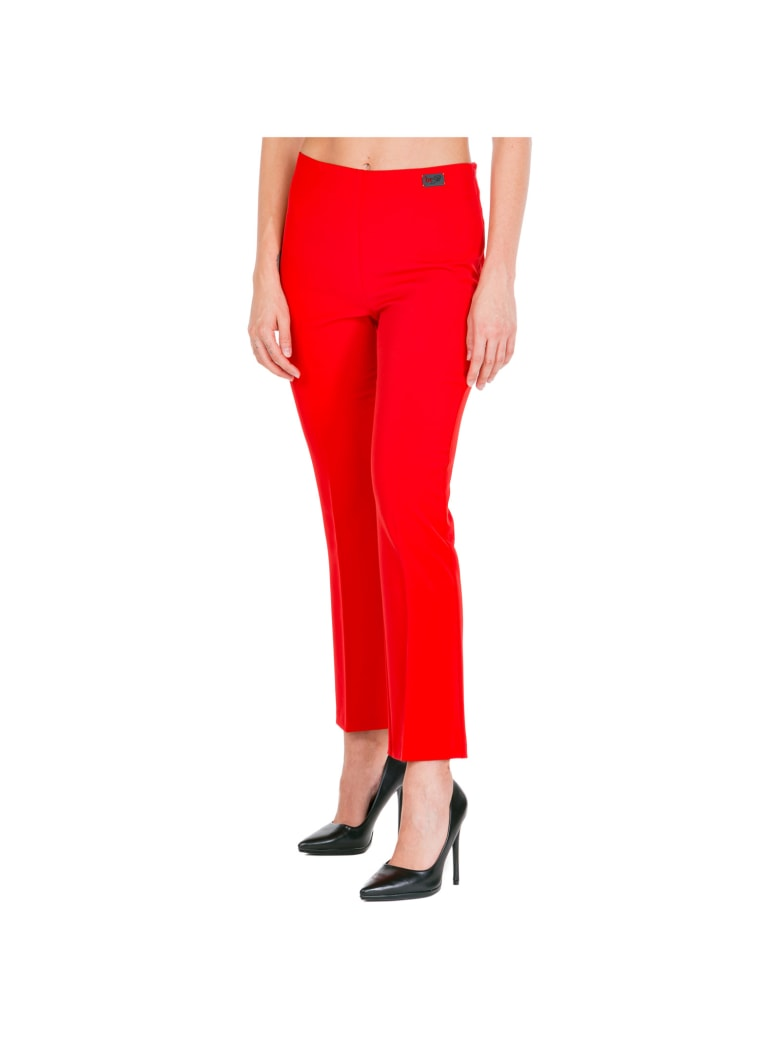 Be Blumarine  Trousers Pants - Rosso