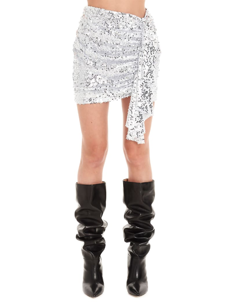 In The Mood For Love 'emily' Skirt - Silver