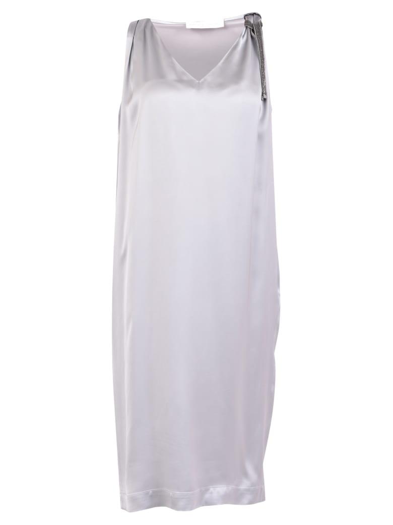 Fabiana Filippi Embellished Dress - Grey
