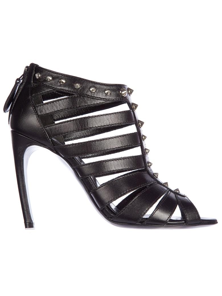 Alexander McQueen Bond Stund Sandals - Nero