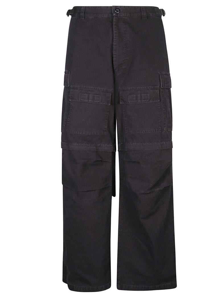 Balenciaga Wide Fit Trousers - Blu
