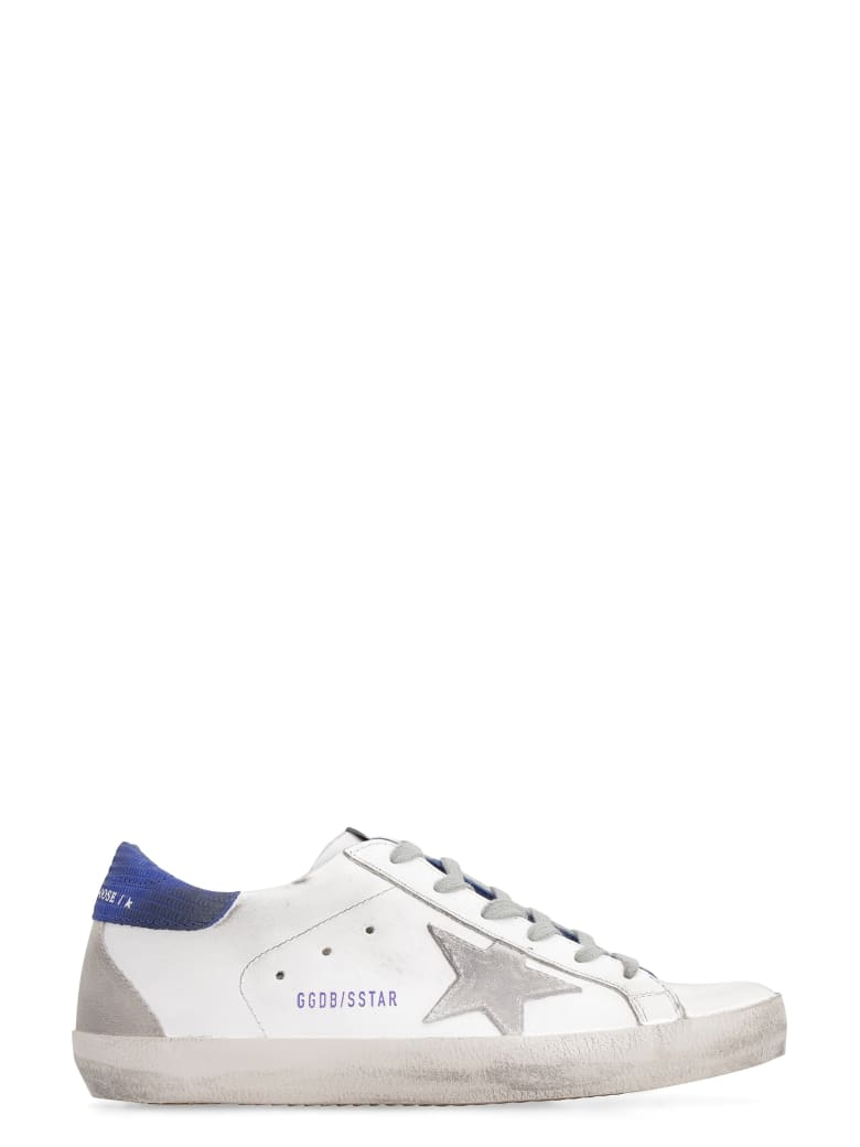 Golden Goose Superstar Leather Low-top Sneakers - White