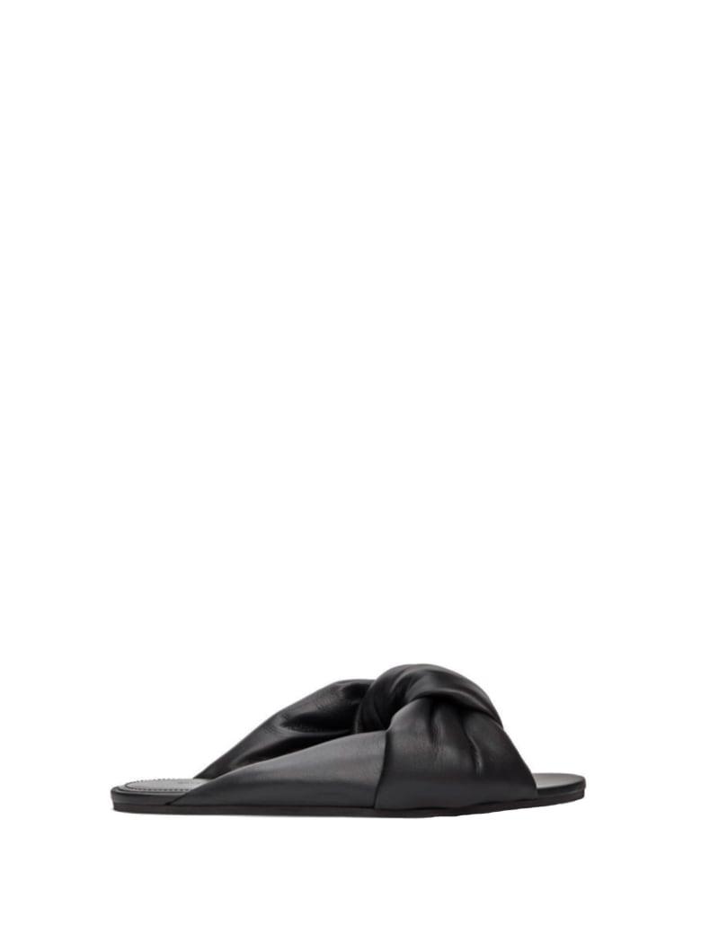 Balenciaga Balenciaga Drapy Flat Sandals - BLK