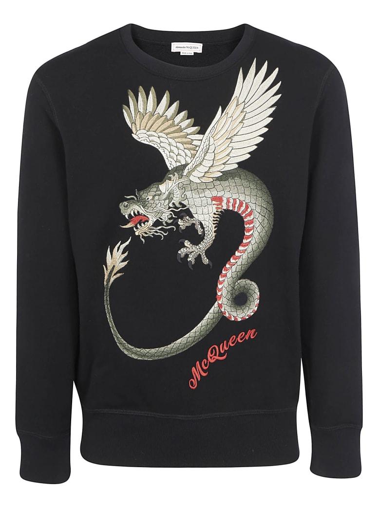Alexander McQueen Sweatshirt - Black/mix