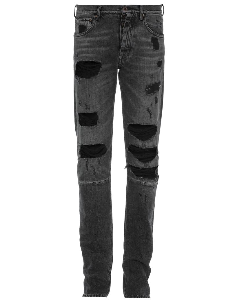 Ben Taverniti Unravel Project Cotton Jeans - BLACK RINS