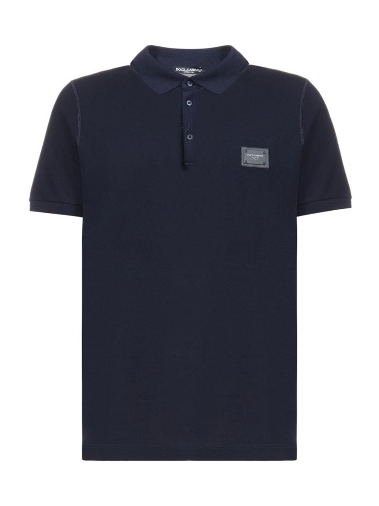 Dolce & Gabbana Polo Shirt - Blu scurissimo
