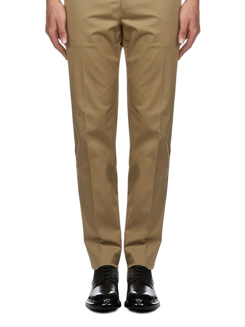 Dolce & Gabbana Trousers - Kaki scuro rosso