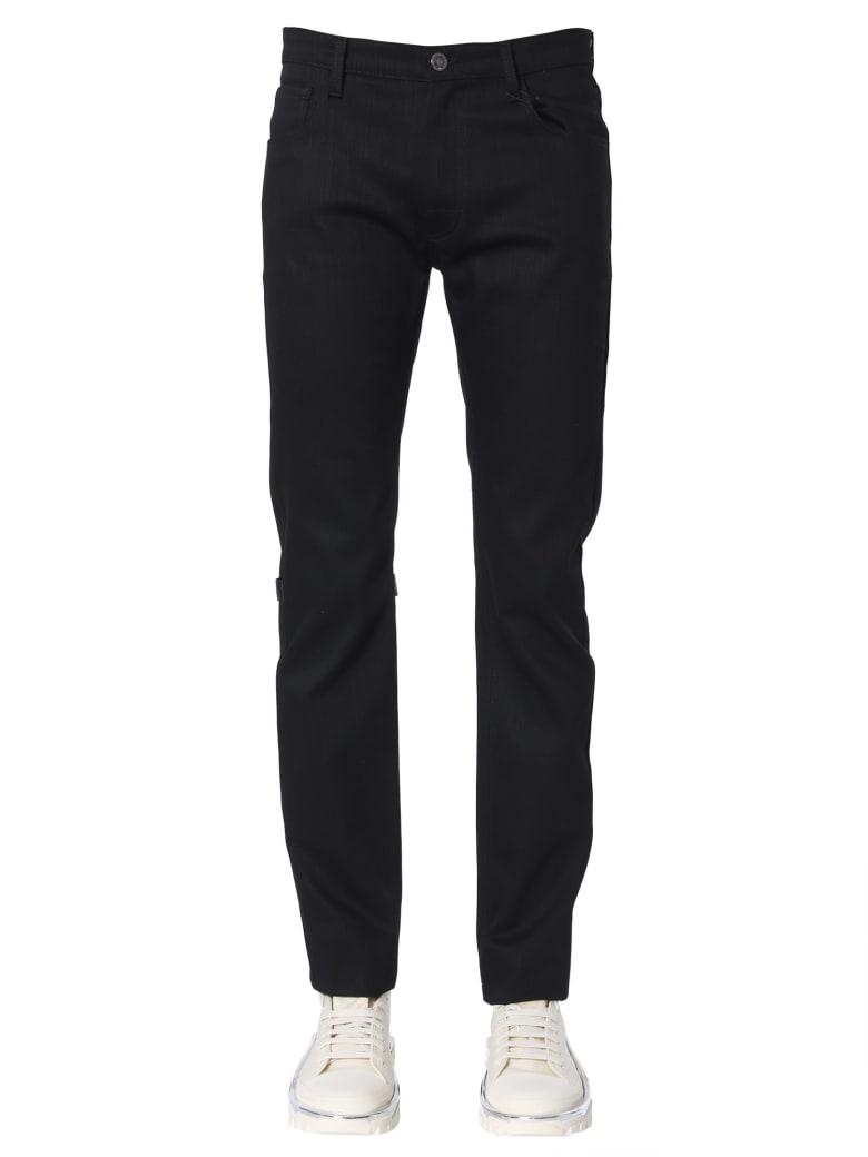 Raf Simons Regular Fit Jeans - NERO