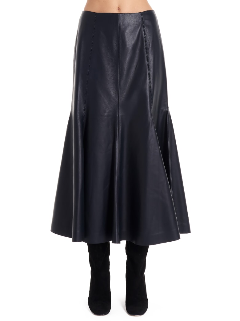 Gabriela Hearst 'amy' Skirt - Blue