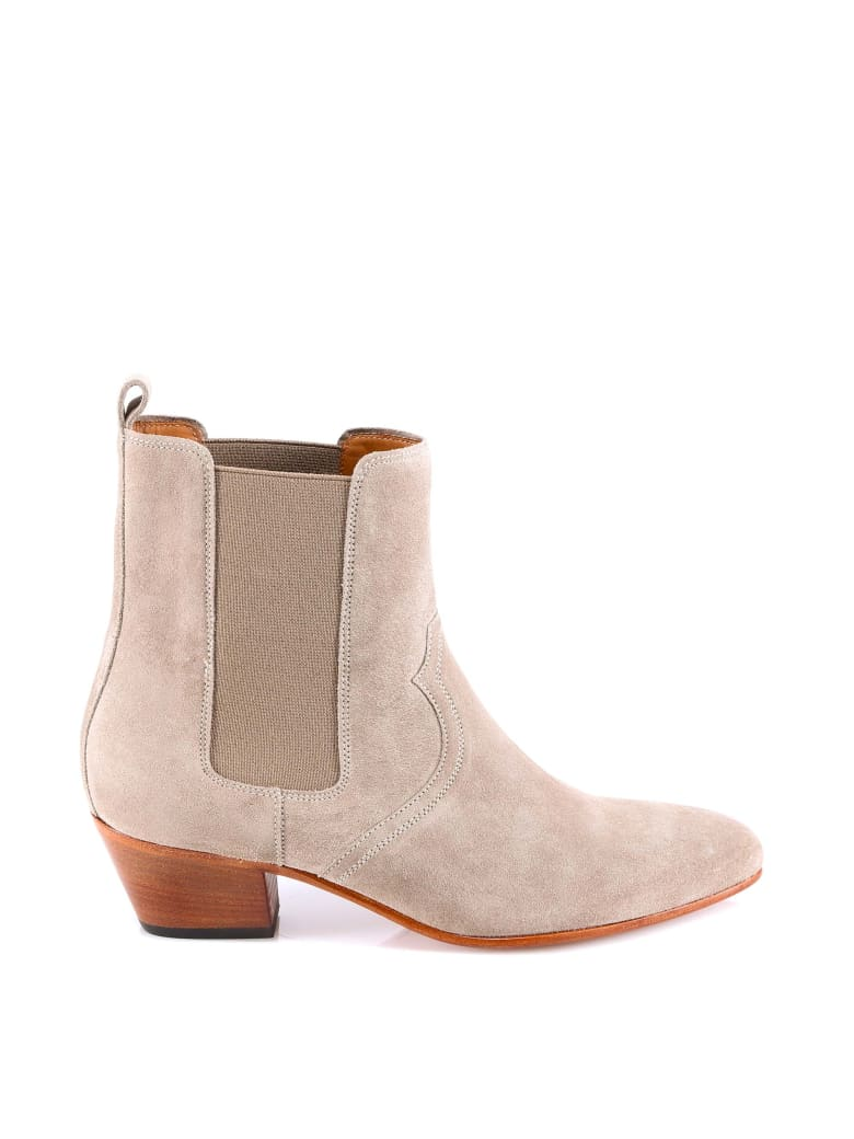 Closed Ankle Boot - Beige
