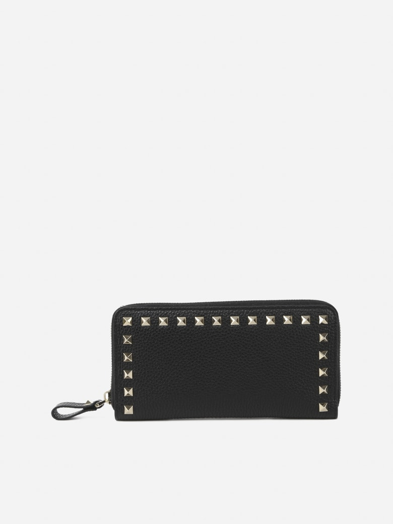 Valentino Garavani Rockstud Large Leather Wallet