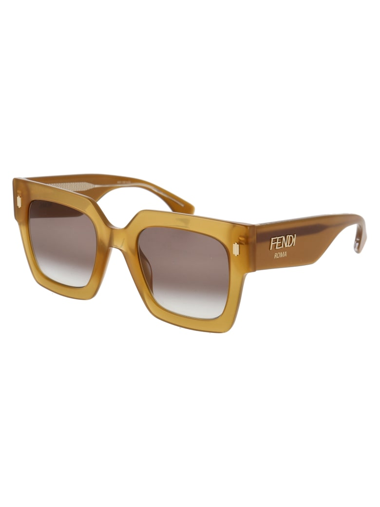 Fendi Ff 0457/g/s Sunglasses - 09QHA BROWN