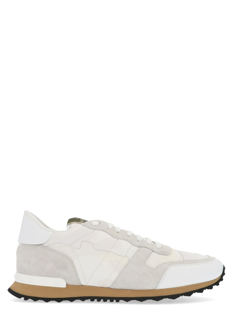 Valentino Garavani 'rockrunner' Shoes - White