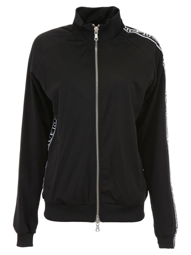 MUF10 Track Jacket With Logo Band - BLACK (Black)