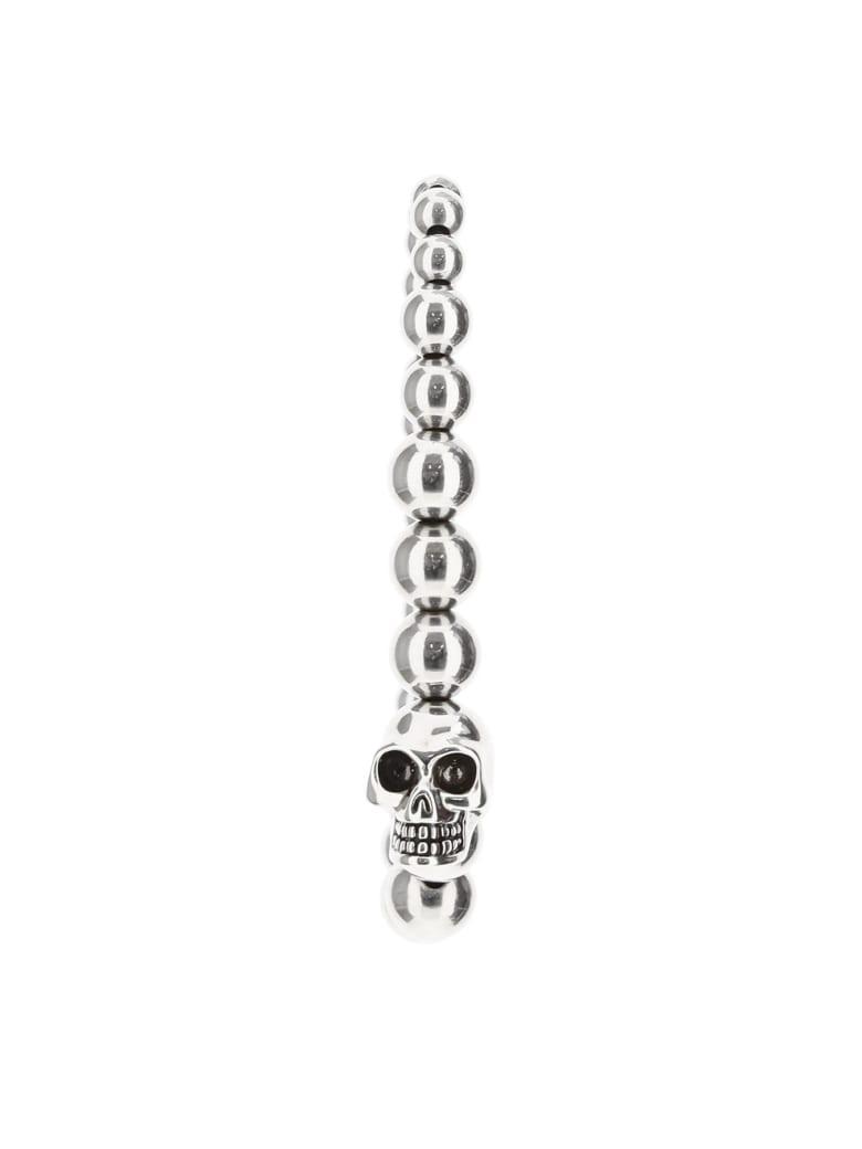 Alexander McQueen Skull Pearl Bracelet