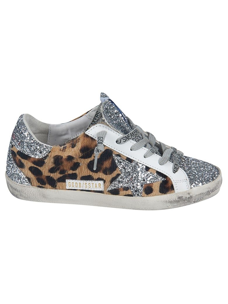 Golden Goose Superstar Sneakers - Leopardo