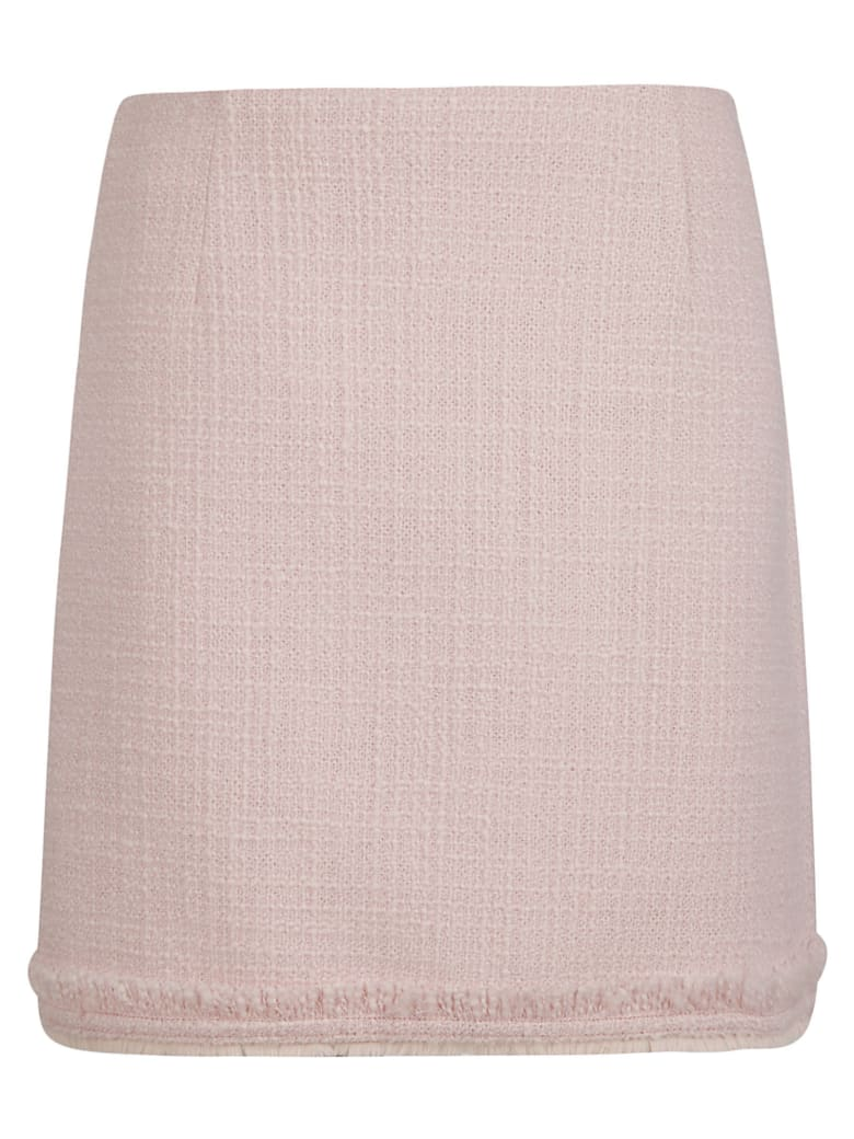 Tory Burch Tweed Mini Skirt - Fondant Pink