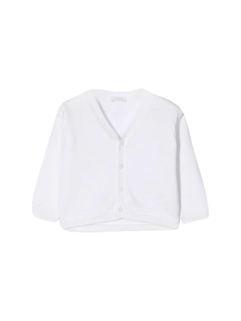 Il Gufo Soft Fit Cardigan - Bianco